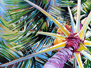 Rhythm and Light - Palm Tree #3