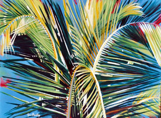 Rhythm and Light - Palm Fronds